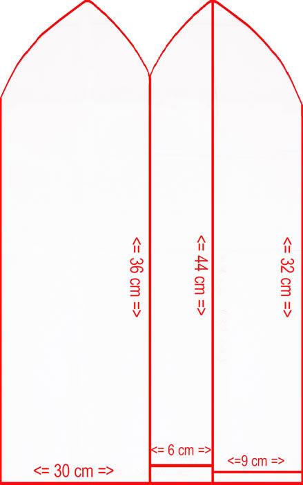 Как сделать выкройку фартука на миллиметровой бумаге 789