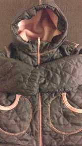 Теплая куртка на флисе